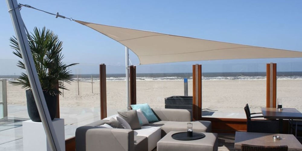 Umbrosa ingenua shade sails global parasols for Shade sail cost