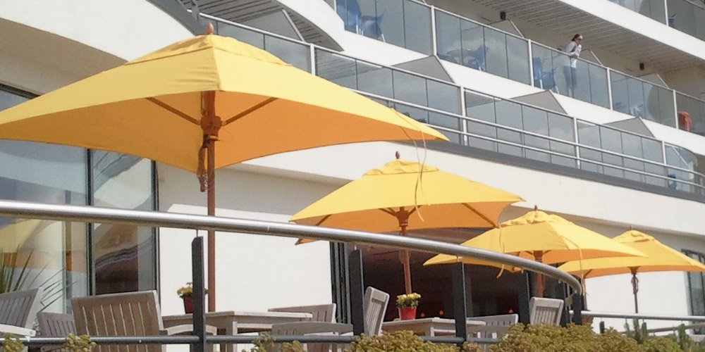 Tradewinds Classic Wooden Parasol From Global Parasols