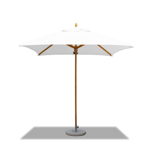 Tradewinds Classic Parasols 2.2m Square in white