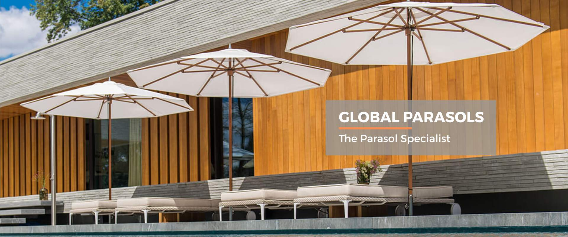 Global Parasols - your leading parasol specialist