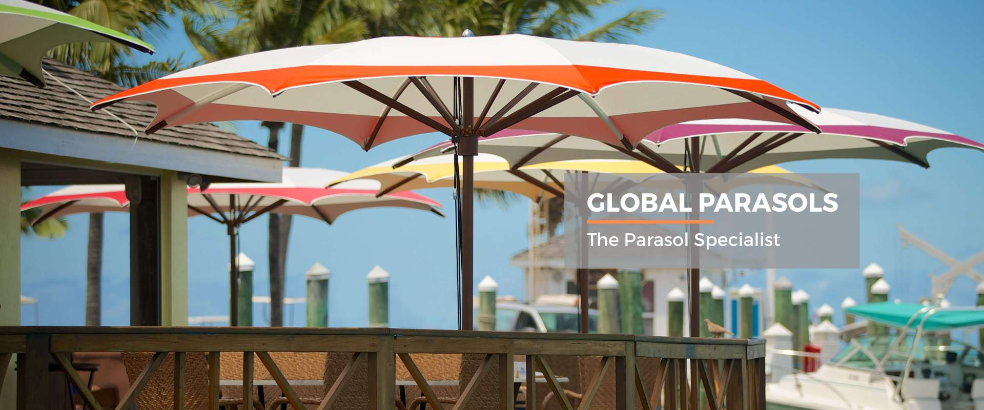 Global Parasols - the parasol specialist