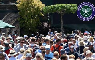 Global Parasols at Wimbledon Tennis Championships