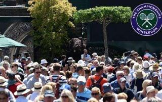 Global Parasols at Wimbledon Tennis Championships
