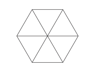 hexagonal parasol